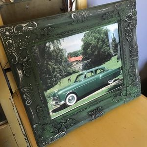 1952 Packard Car Framed Magazine Ad Picture